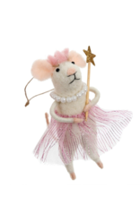 Mouse Ornament Princess Pearl