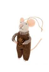 Mouse Ornament Naturalist Nate