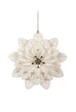 White Flower Ornament