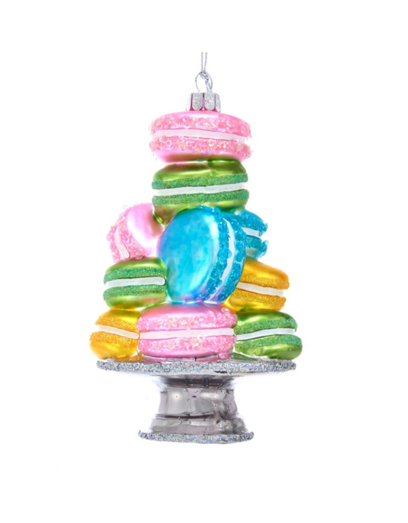 Noble Gems Stacked Macaroon Ornanment