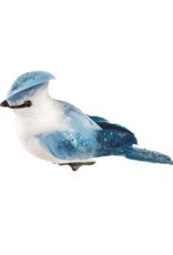 Blue & White Bird Ornament
