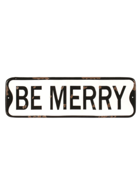Be Merry Wall Plaque