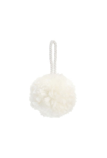 White PomPom Ornament