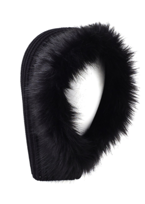 Echo Balaclava W/Faux Fur Black
