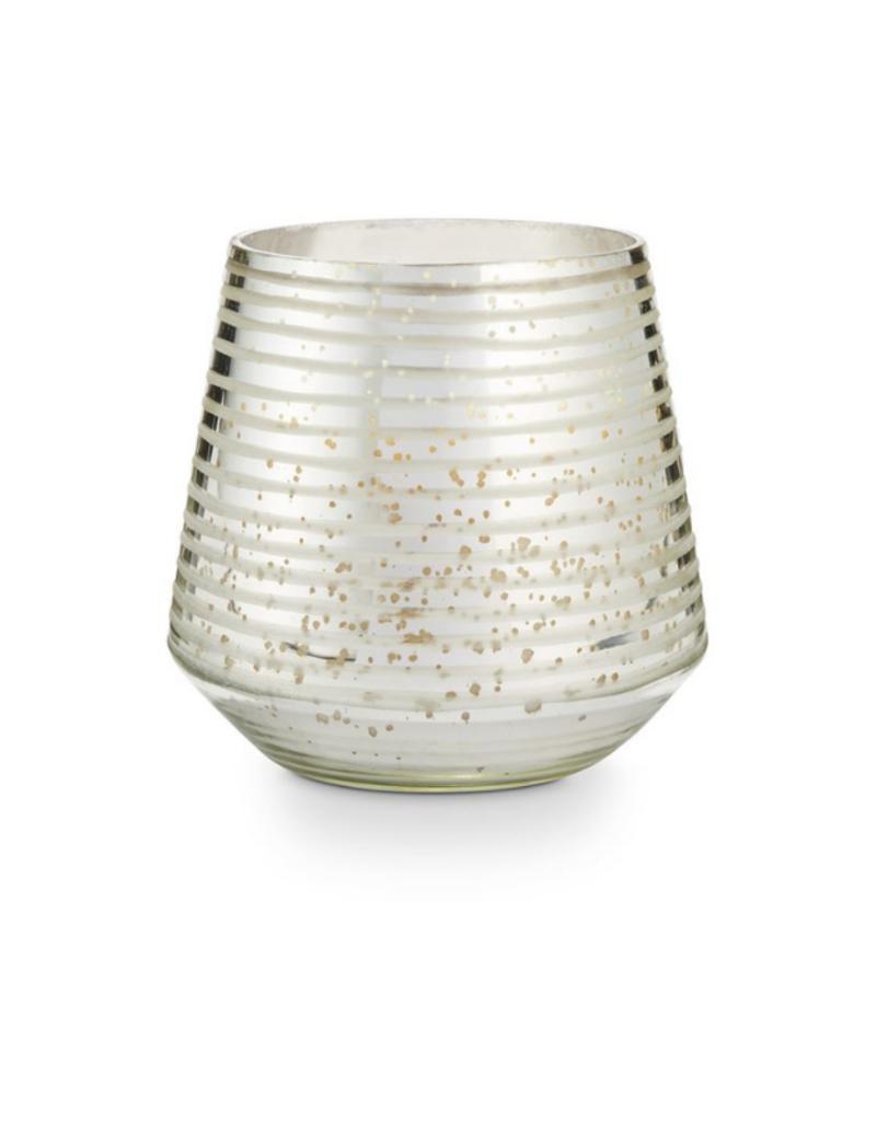 Illume Balsam & Cedar Etched Glass Large