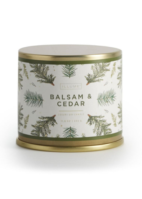 Illume Balsam and Cedar Large Tin