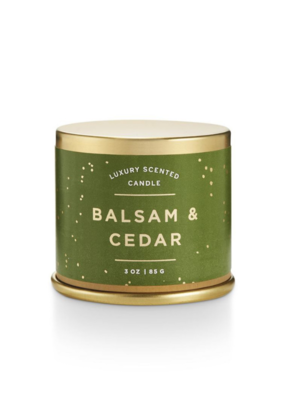 Illume Balsam and Cedar Demi Tin