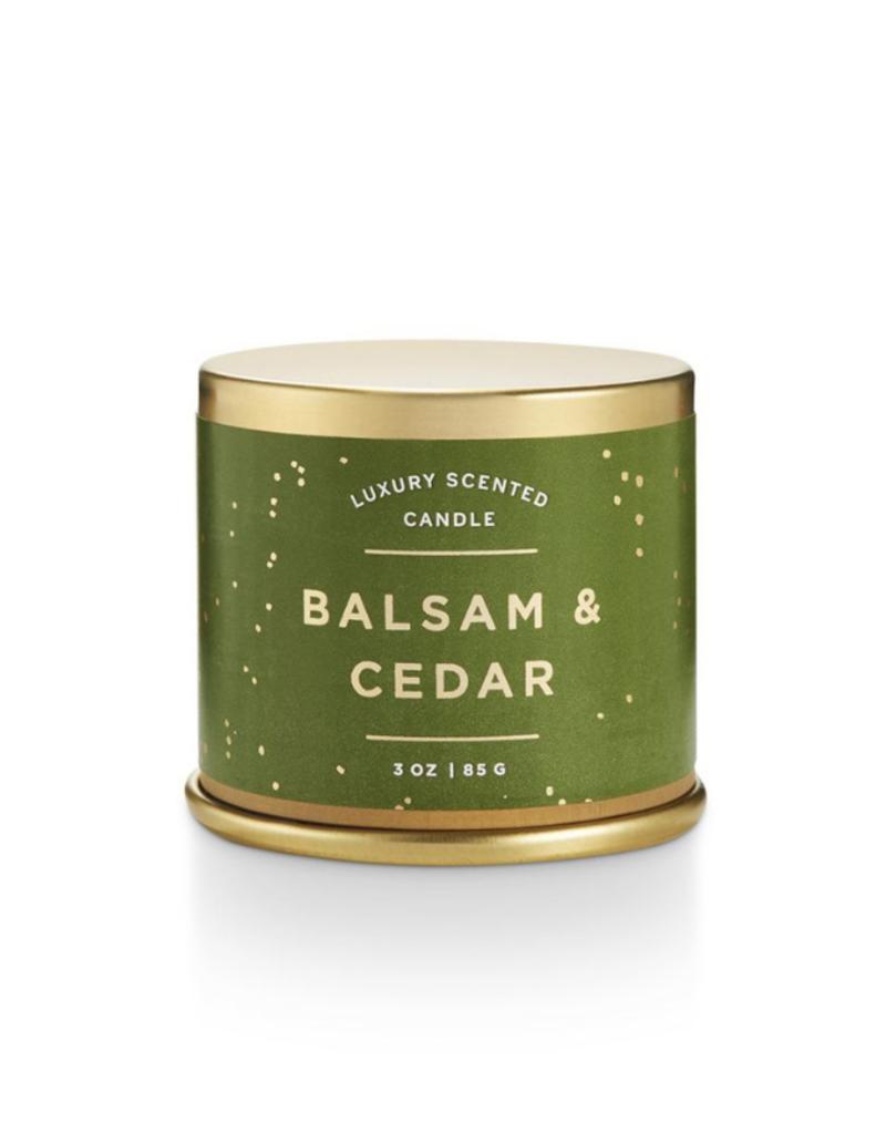 Illume Balsam and Cedar Demi Tin