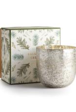 Illume Balsam and Cedar Luxe Sanded Mercury Glass