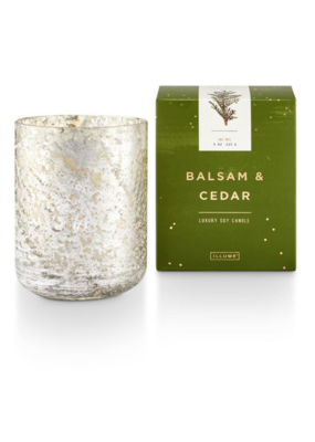 Illume Balsam and Cedar Luxe Tumbler Boxed