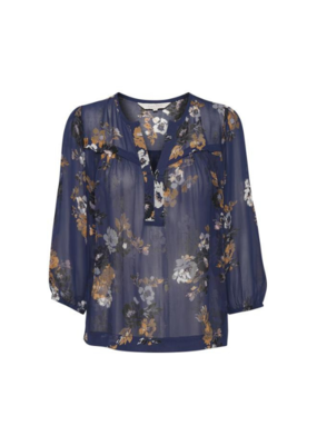 Part Two PART TWO Vally Floral Blouse in Blue
