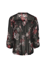 Part Two PART TWO Vally Floral Blouse in Black