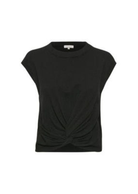 Part Two PART TWO Vavara  Pullover Vest in Black