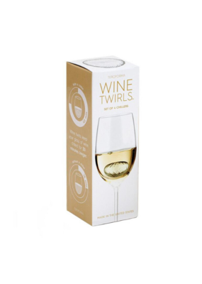 teroforma Teroforma Wine Twirls Set of 4