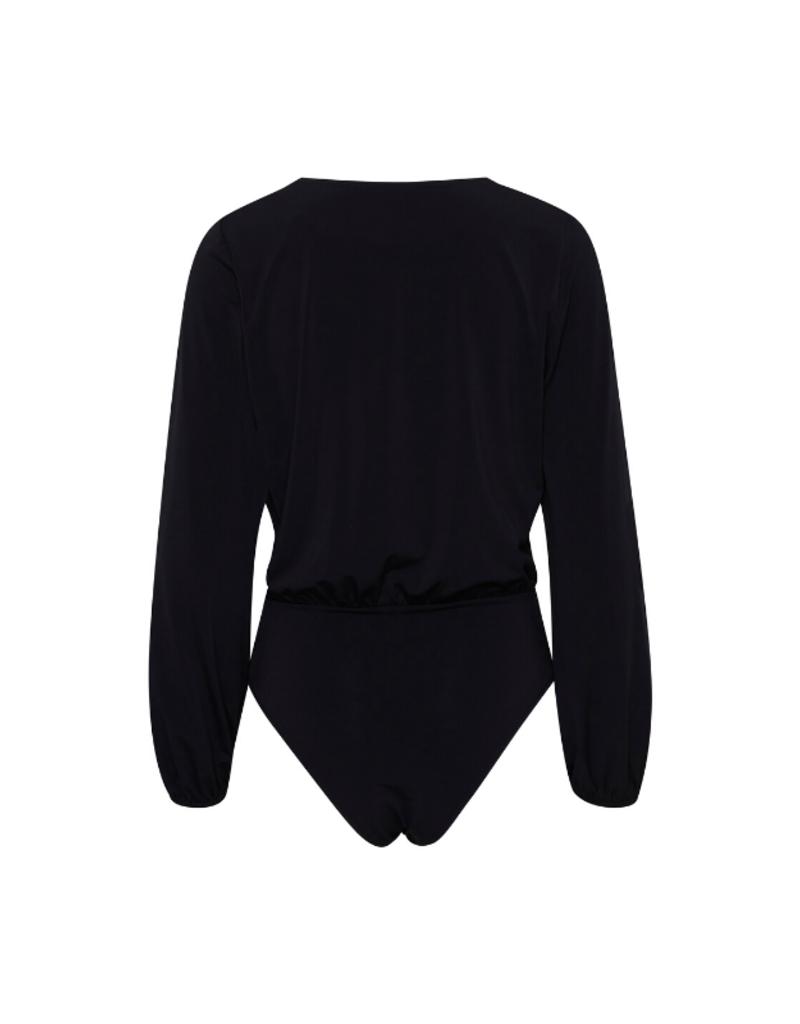 ICHI ICHI Xilvia Bodysuit in Black