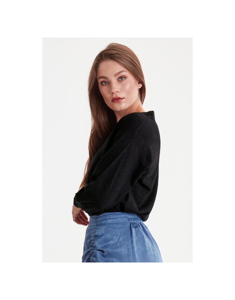 ICHI ICHI Mopaz Sweater in Black