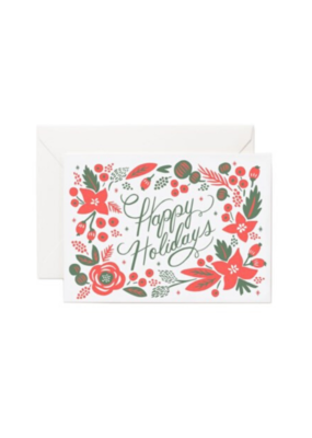 Rifle Paper Co. Pointsettia Holiday Card