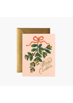 Rifle Paper Co. Mistletoe Christmas Card