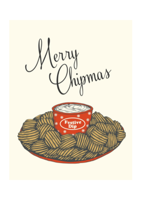 The Good Days Print Co. Merry Chipmas Card The Good Days Print Co.