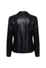 ICHI Cammi Blazer in Black Sequins