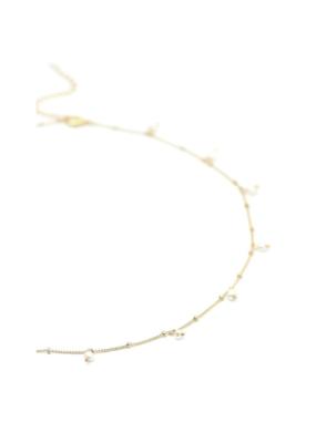 Lover's Tempo Lover's Tempo Dot Pearl Necklace, White