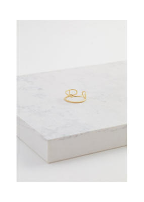 Lover's Tempo LT Knot Today Ring Gold