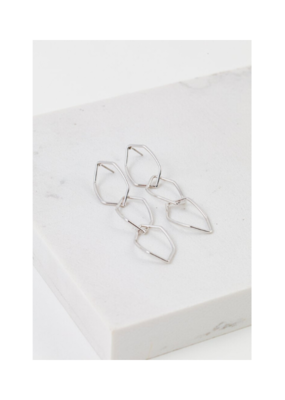 Lover's Tempo LT Dali Drop Earrings Silver