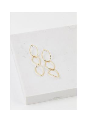 Lover's Tempo LT Dali Drop Earrings Gold