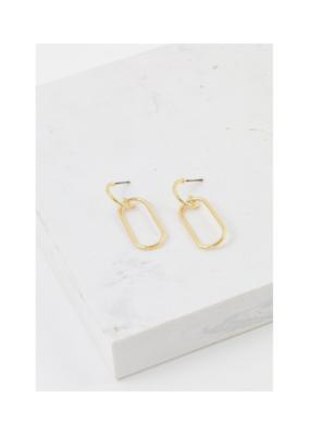 Lover's Tempo LT Lago Drop Earrings Gold