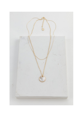Lover's Tempo LT Mirage Double Necklace White