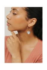 Lover's Tempo LT Mirage Hoop Earrings White