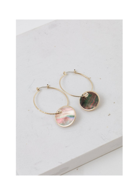 Lover's Tempo Lover's Tempo Mirage Hoop Earrings Abalone