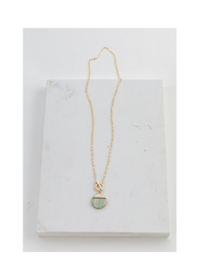 Lover's Tempo LT Oasis Toggle Necklace Abalone