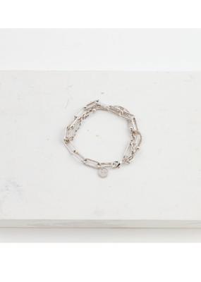 Lover's Tempo LT Shay Bracelet Silver