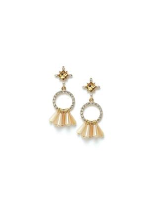 Lover's Tempo LT Jolene Drop Earrings  Peach Rose