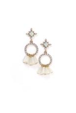 Lover's Tempo LT Jolene Drop Earrings  White