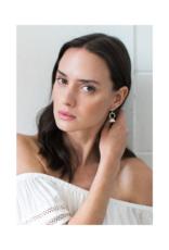 Lover's Tempo Lover's Tempo Jolene Drop Earrings  White