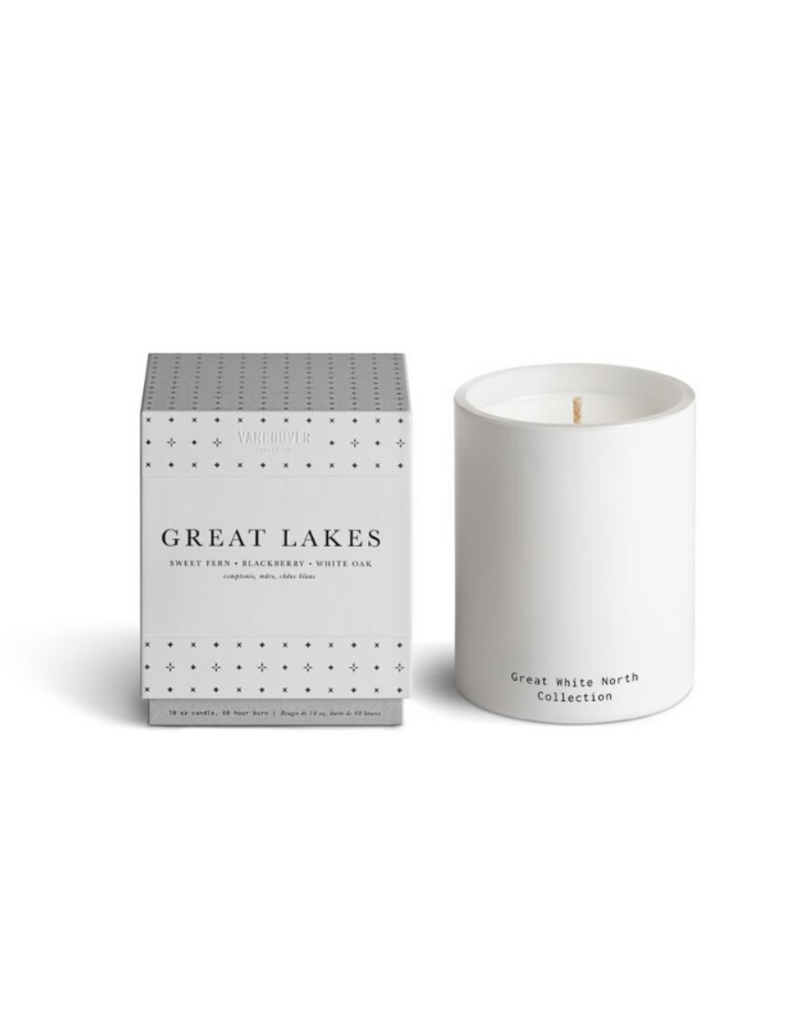 Vancouver Candle Co. VCC Boxed Candle Great Lakes