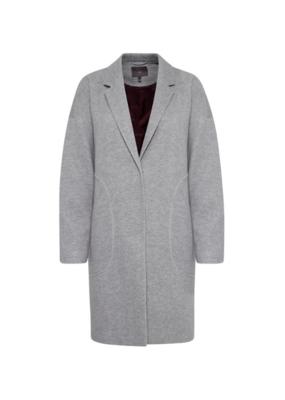 ICHI Ivalo Jacket/Coat Grey Melange