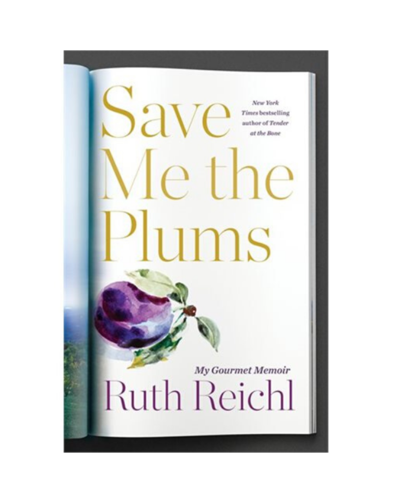 Save Me The Plums Book