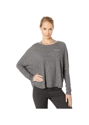 "Goodhyouman good hYOUman Stacey Sweatshirt ""One Love"" in Heather Charcoal"