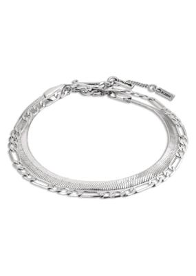 PILGRIM Pilgrim Yggdrasil 2-in-1 Bracelet in Silver