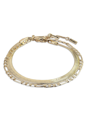 PILGRIM Pilgrim Yggdrasil 2-in-1 Bracelet in Gold