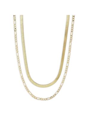 PILGRIM Pilgrim Yggdrasil Set of 2 Necklaces in Gold