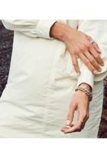 PILGRIM Pilgrim Skuld Twisted Bangle Bracelet in Silver