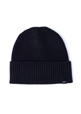 Echo Active Stretch Ribbed Cuff Beanie Black