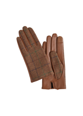 ICHI Ichi Elina Leather Gloves Gingerbread