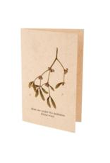 Indaba Card Mistletoe