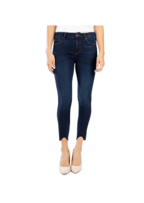 Kut from the Kloth KUT Connie High Rise Ankle Skinny in Resting Wash
