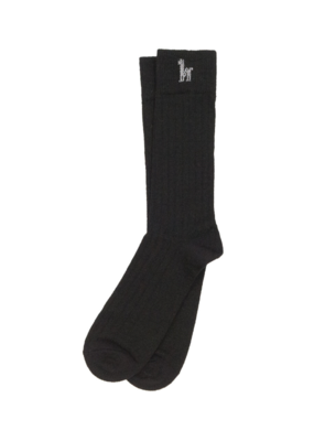 Everyday Alpaca Socks Black